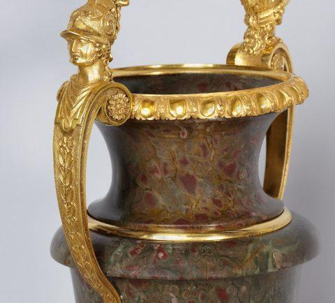 Detailabbildung der Goldbronze-Montierung, Kunsthandel Mühlbauer