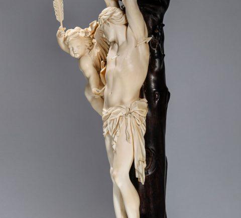 Justus Glesker, das Martyrium des Heiligen Sebastian, Kunsthandel Mühlbauer