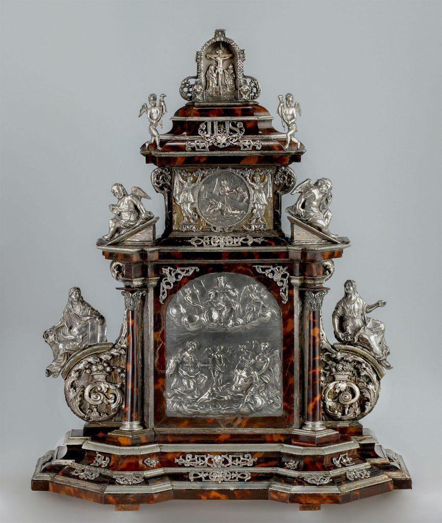 Cornelis Daniel Thelott , kleiner Hausaltar, Kunsthandel Mühlbauer