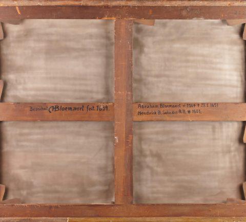 Hendrick Bloemaert, Rückseite, Kunsthandel Mühlbauer