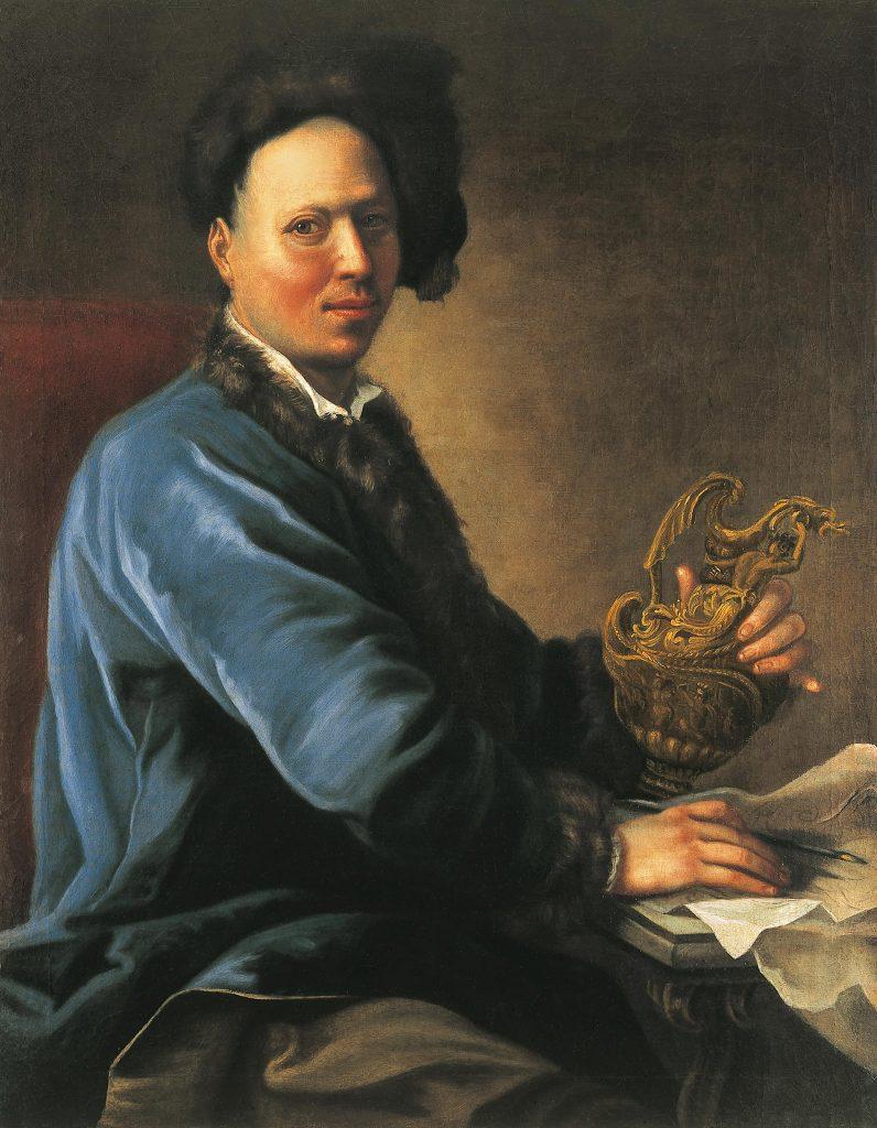 Maximilian Joseph Hannl, Portrait eines Goldschmiedes, Kunsthandel Mühlbauer