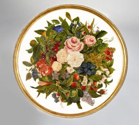 Karl Friedrich Schinkel, Tischplatte des zierlichen Gueridons, Kunsthandel Mühlbauer