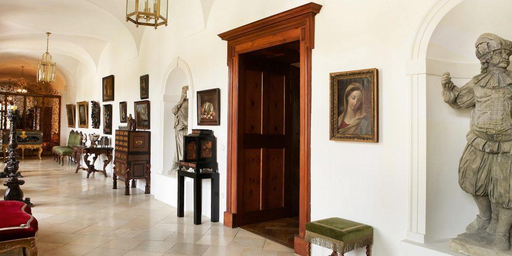 Der Kunsthandel Peter Mühlbauer im Schloss Schönburg