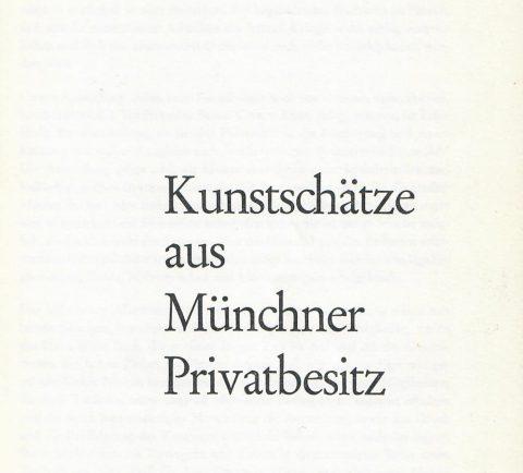 Austellungskatalog zur Hundert-Jahr-Feier des Münchener Altertumsvereins e.V. von 1864