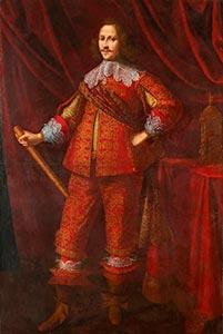 Daniel Mytens, Portrait eines Edelmannes, Kunsthandel Mühlbauer