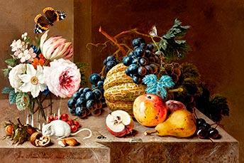 Johann Amadeus Winck, Blumenstillleben, Kunsthandel Mühlbauer