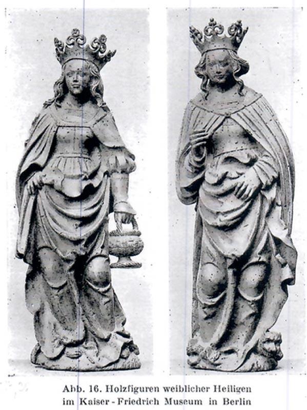 Mondsichel-Madonna, vergleichende Literatur Kaiser-Friedrich Museum Berlin, Kunsthandel Mühlbauer
