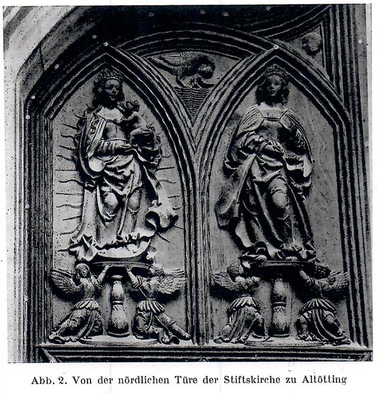 Mondsichel-Madonna, vergleichende Literatur Stiftkirche Altötting, Kunsthandel Mühlbauer