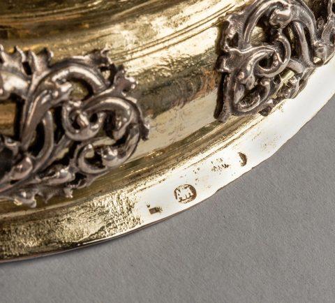 prächtiger Silber-Humpen, Meistermarke, Kunsthandel Mühlbauer